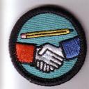 NaNo Socializing Badge